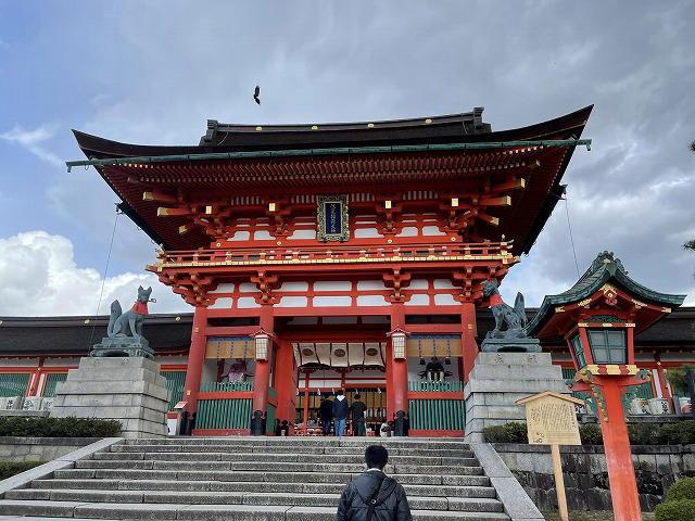 伏見稲荷(楼門)