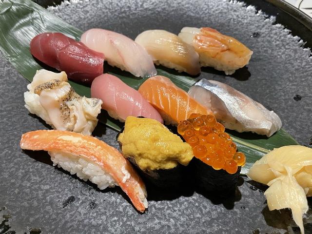 北斗房の特上寿司